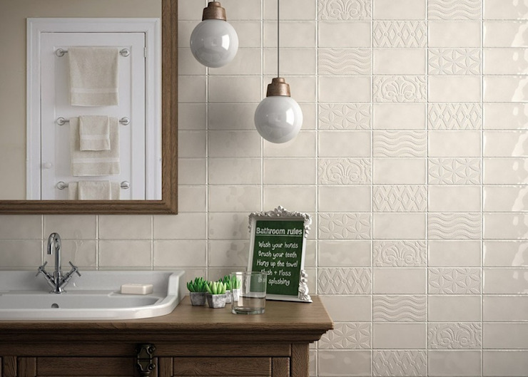 Brick Tile Series Country style walls & floors by Tileflair Country