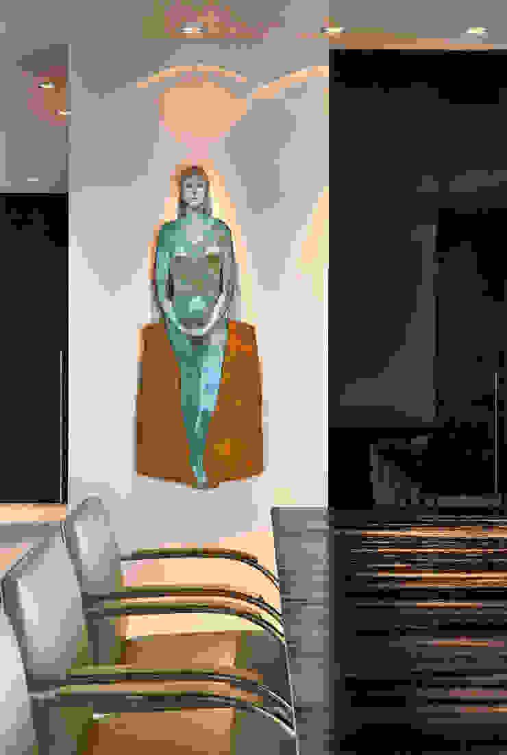 Destaque para a obra de Baravelli por Fernanda Sperb Arquitetura e interiores Moderno