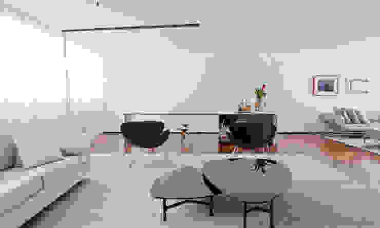 Apartamento Jaú por Zemel+ ARQUITETOS Moderno