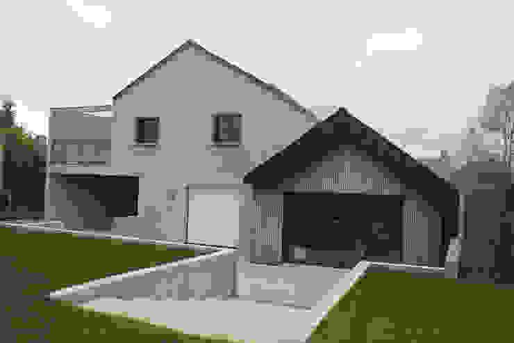 Façade Sud Maisons modernes par homify Moderne