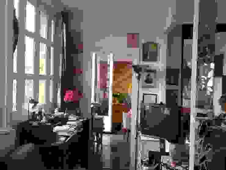 Vue salon AVANT par Capucine de Cointet architecte Moderne