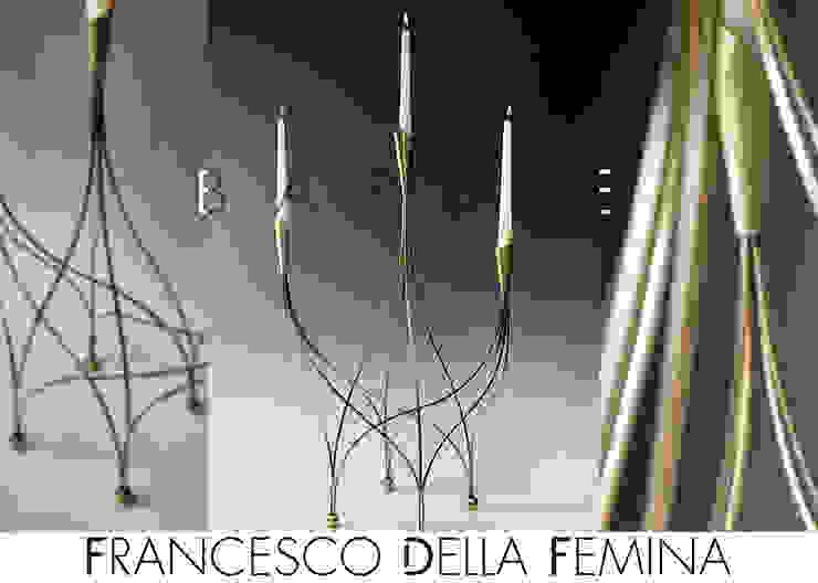 Barbie sculpture/candelabra di Francesco Della Femina Moderno