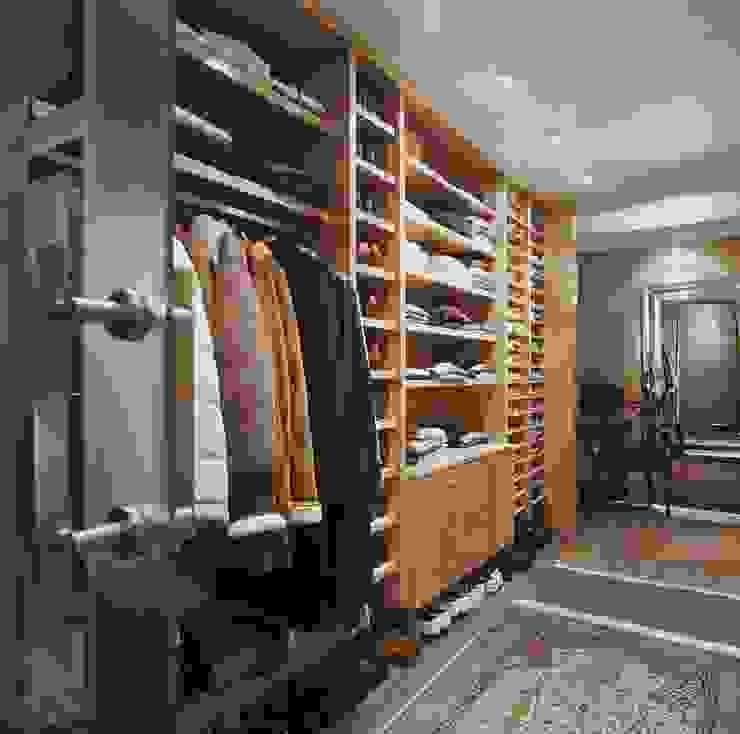 Interiorismo y decoracion de apartamento de lujo en la zona alta de Barcelona. de Ojinaga Moderno