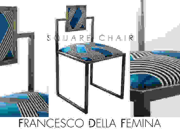 Square Chair Francesco Della Femina SoggiornoSgabelli & Sedie