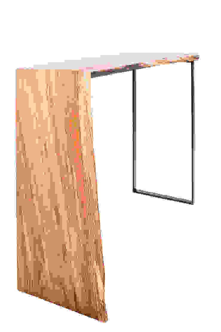 Konsola z drewna dębu. Onetree 19. od Onetree Nowoczesny