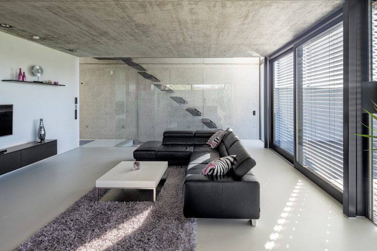 Living room by Schiller Architektur BDA,