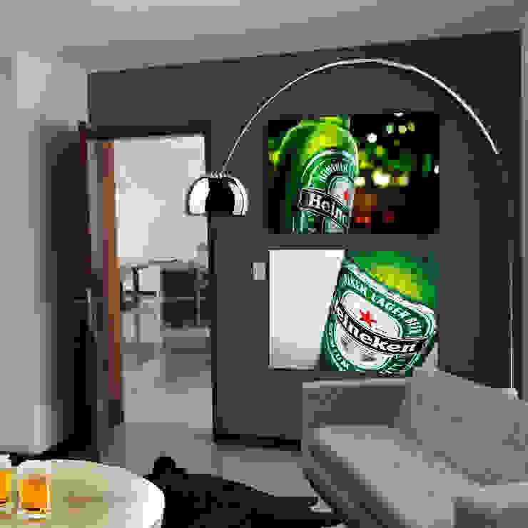 BAR Salas multimedia modernas de MINT INTERIORISMO Moderno