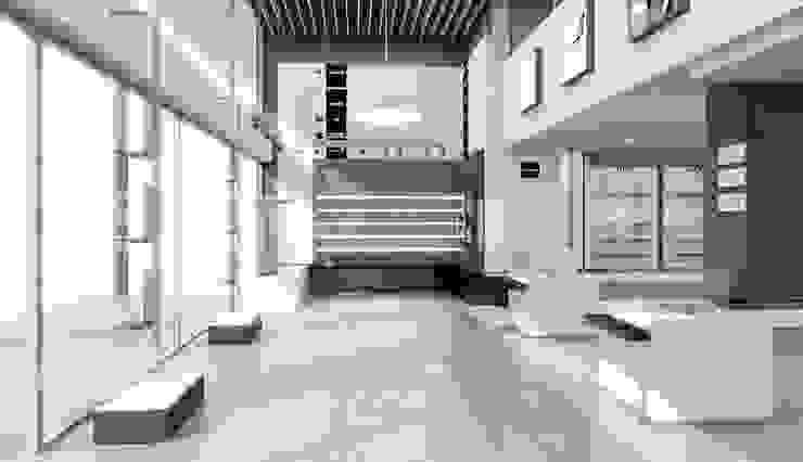 Concepto Querol Club de la Oficina, Tortosa Espacios comerciales de estilo minimalista de AG INTERIORISMO Minimalista