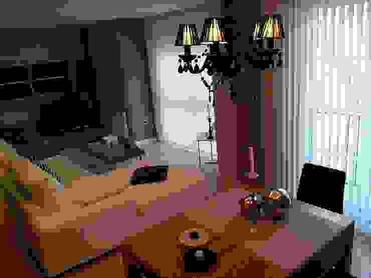 Reforma de Apartamento en Granada Salones de estilo ecléctico de AG INTERIORISMO Ecléctico