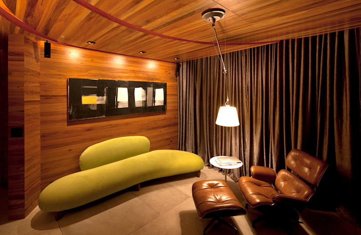 Studio no Leblon Quartos modernos por Mareines+Patalano Arquitetura Moderno