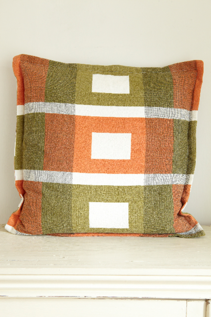 Cushion made from mid-century textile The OK Corral Living roomAccessories & decoration