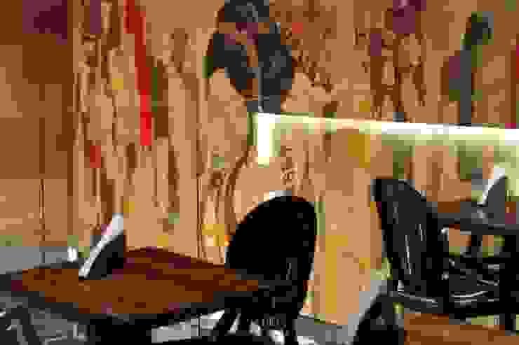 MEZANINO Espaços gastronômicos industriais por Gabriela Herde Arquitetura & Design Industrial