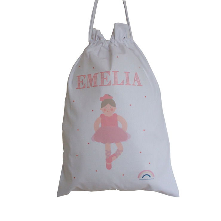 Ballet Bag :: Personalised Hope & Rainbows Stanza dei bambiniContenitori
