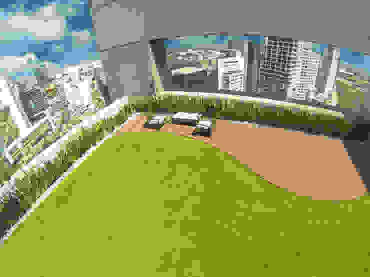 Terrazas de estilo  por Azoteas Verdes , Minimalista
