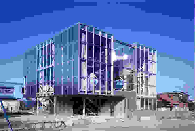 南西側外観 モダンな 家 の 井戸健治建築研究所 / Ido, Kenji Architectural Studio モダン