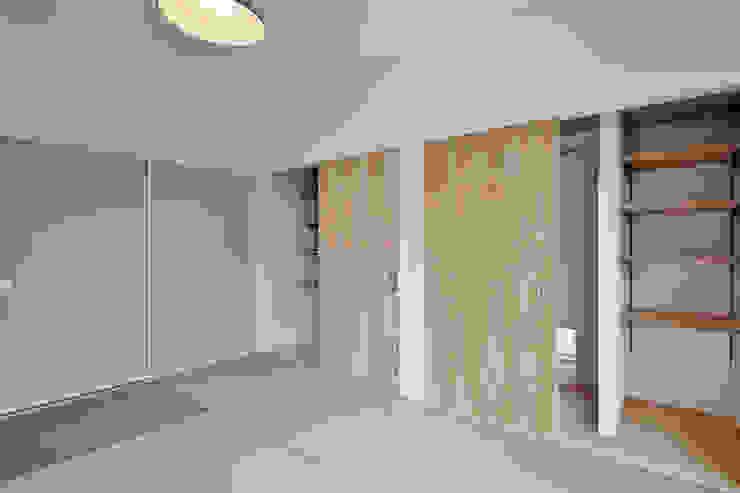 和室 インダストリアルスタイルの 寝室 の ASTER インダストリアル