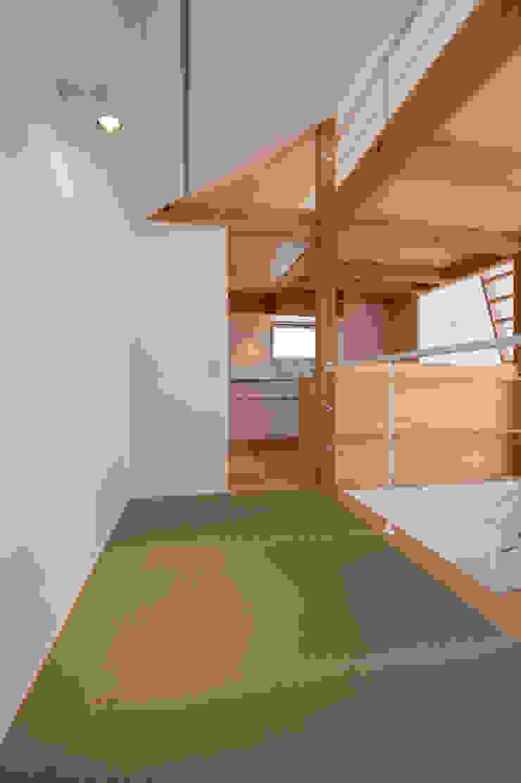 Modern media room by (有)菰田建築設計事務所 Modern