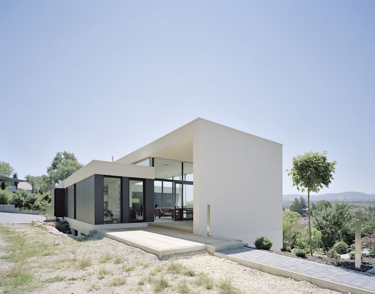 Casas modernas de Schiller Architektur BDA Moderno