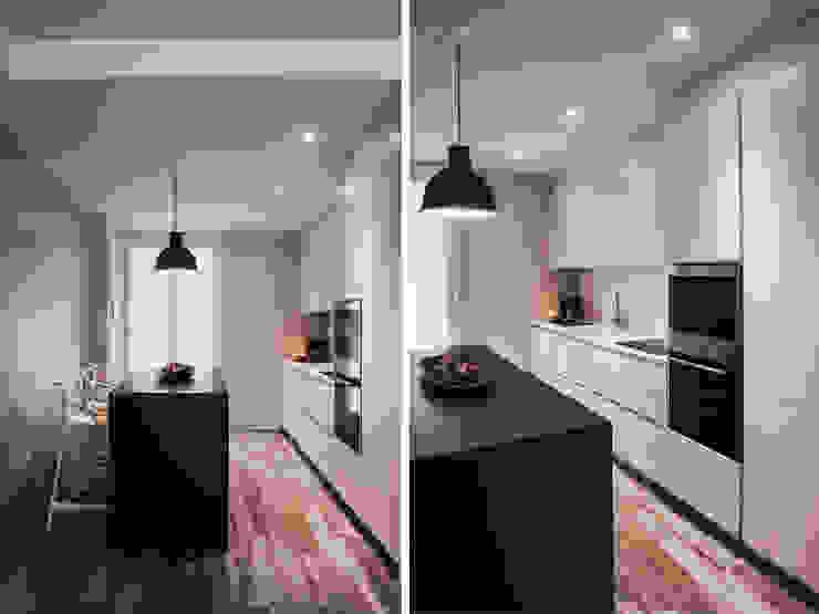 cucina Cucina moderna di studiooxi Moderno
