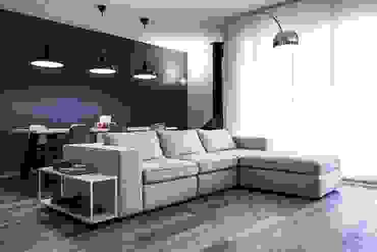 Living room by studiooxi, Modern