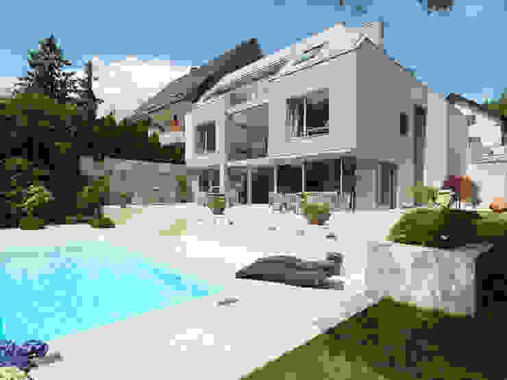Projekty,  Domy zaprojektowane przez Moser Architects, Nowoczesny
