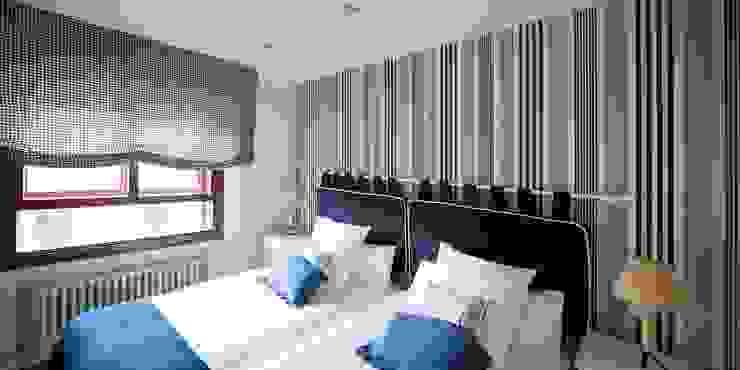 DORMITORIO DE INVITADOS Dormitorios de estilo mediterráneo de PRIBURGOS SLU Mediterráneo