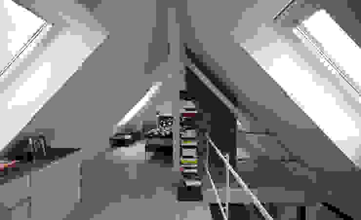 Galerie Dachausbau Moderne Schlafzimmer von Gerstner Kaluza Architektur GmbH Modern