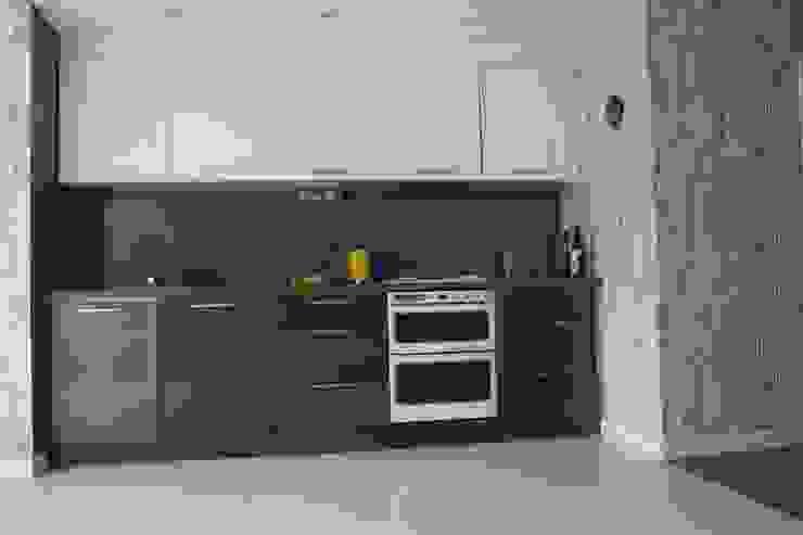 Ground floor - kitchen AZ INTERIORS Scandinavian style kitchen