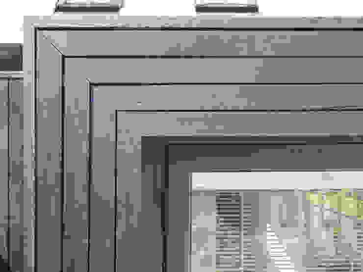 Doma architects - kitchen garden - cladding detail doma architects Modern houses