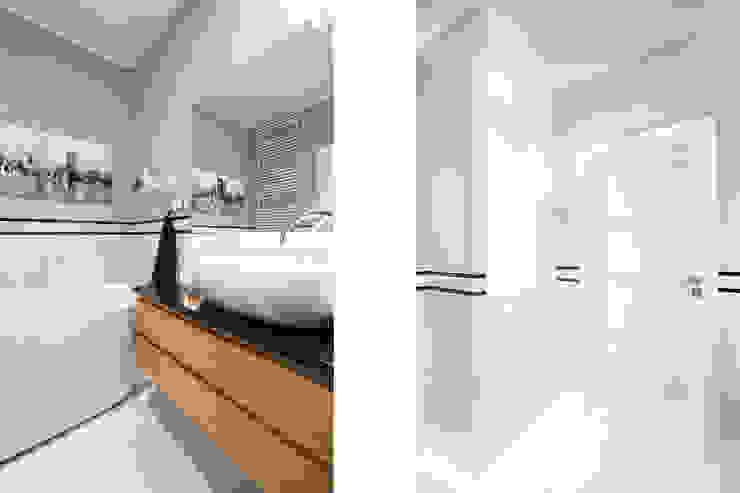 Mieszkanie – Warszawa – 85 m2 Nowoczesna łazienka od Mprojekt Nowoczesny