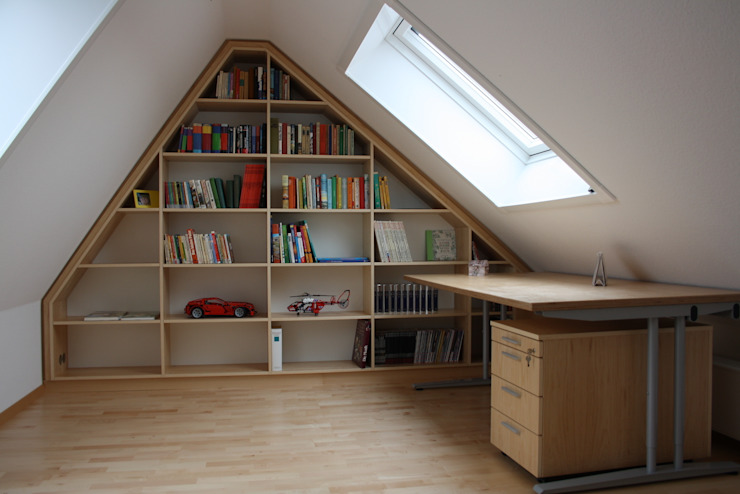 Modern study/office by Tolksdorf Innenausbau GmbH Modern