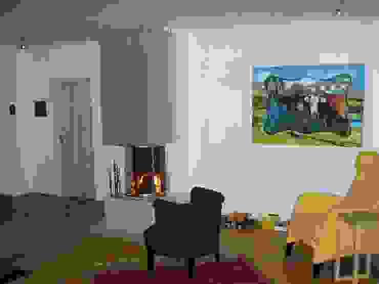 Bild 10 Wohnzimmer im Landhausstil von baldassion architektur Landhaus
