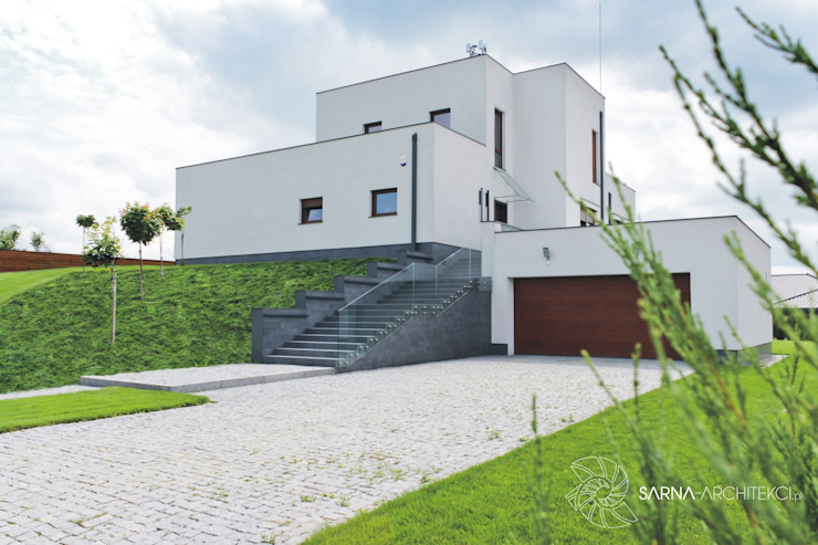 SARNA ARCHITECTS Interior Design Studio Casas modernas