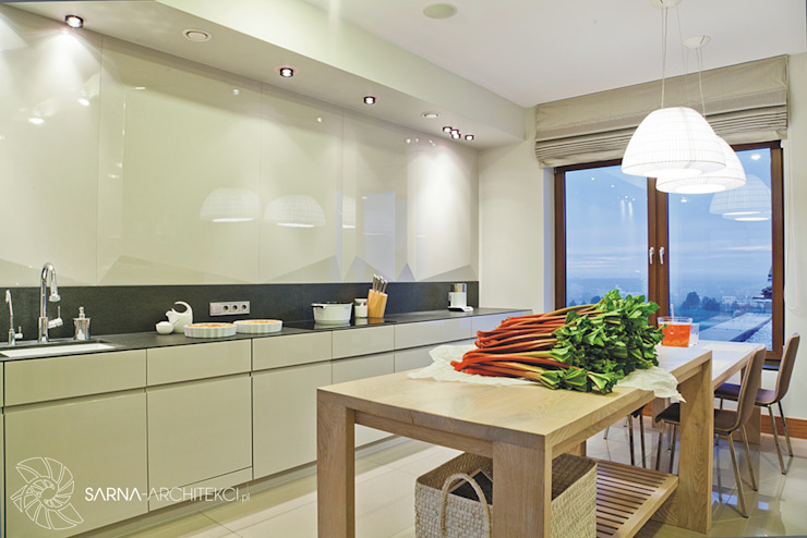SARNA ARCHITECTS Interior Design Studio Cocinas de estilo moderno