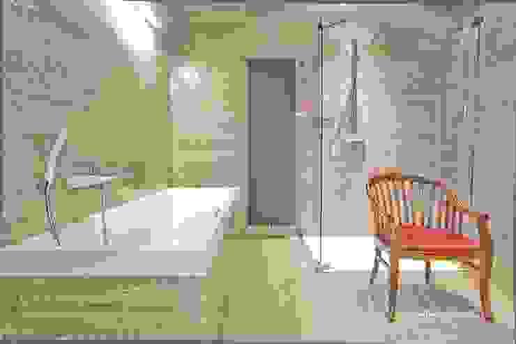 Bagno moderno di SARNA ARCHITECTS Interior Design Studio Moderno