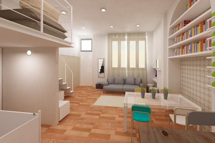 Azzurra Lorenzetto Modern living room