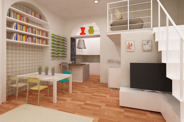 Azzurra Lorenzetto Modern dining room