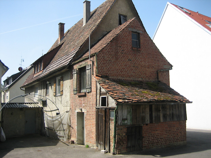 Ansicht Hofseite 1 vorher von Kurt R. Hengstler GmbH