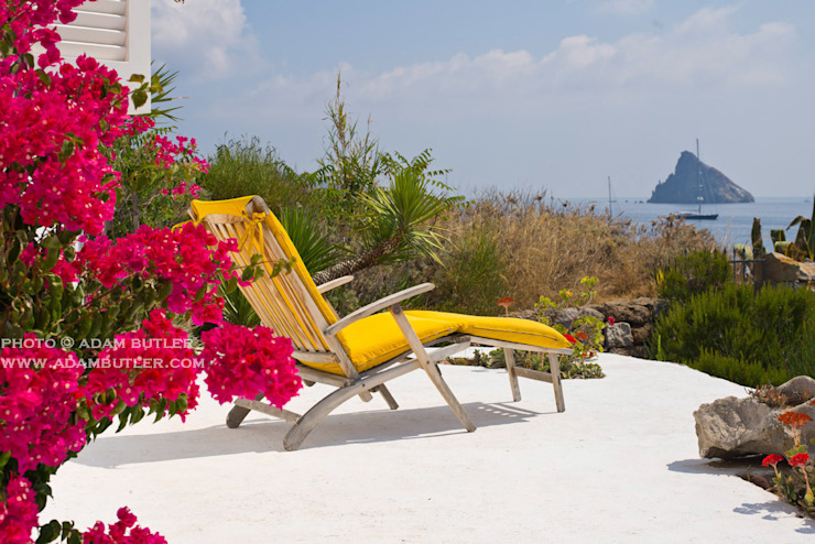 Casa Menne, Panarea, Aeolian Islands, Sicily by Adam Butler Photography Mediterranean