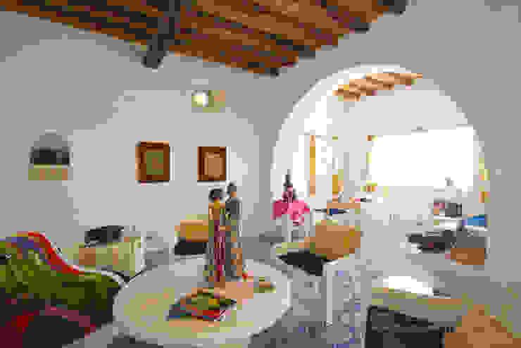 Casa Menne, Panarea, Aeolian Islands, Sicily Adam Butler Photography Mediterranean style living room