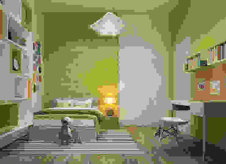 Dormitorios infantiles de estilo minimalista de Projecto2 Minimalista