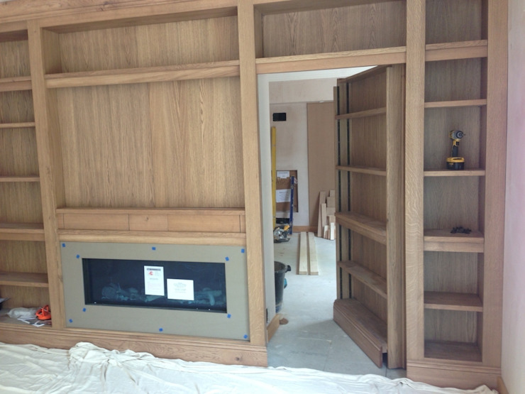 Bookcase with a secret... by Hallwood Furniture