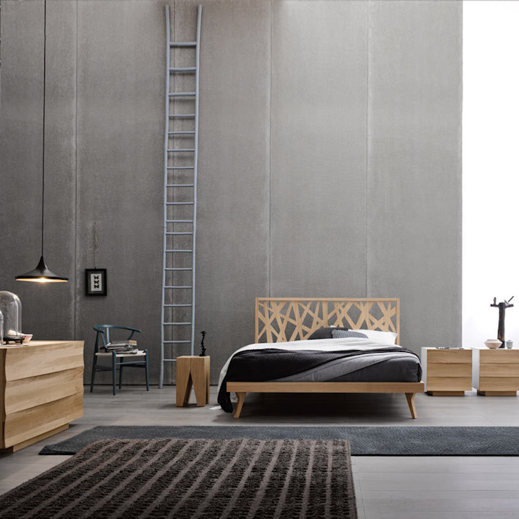 Nest Bed:  in stile industriale di Lovli s.r.l., Industrial