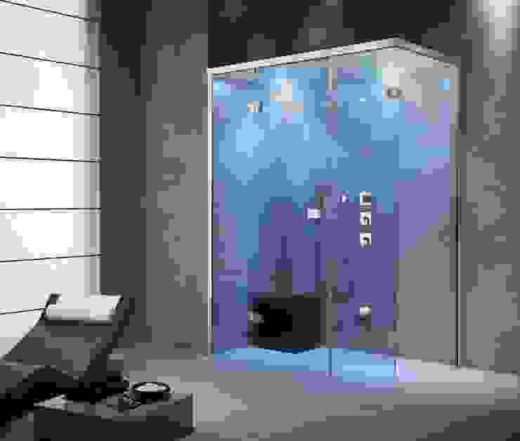 Feature Showers and Steam Showers Baños de estilo moderno de Nordic Saunas and Steam Moderno