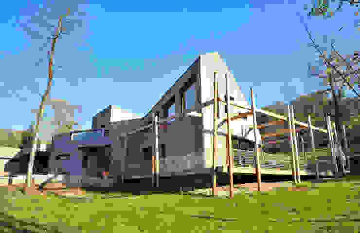 façade ouest Maisons modernes par AtjM Moderne