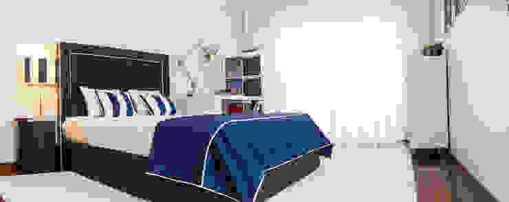 Ângela Pinheiro Home Design Eclectic style bedroom