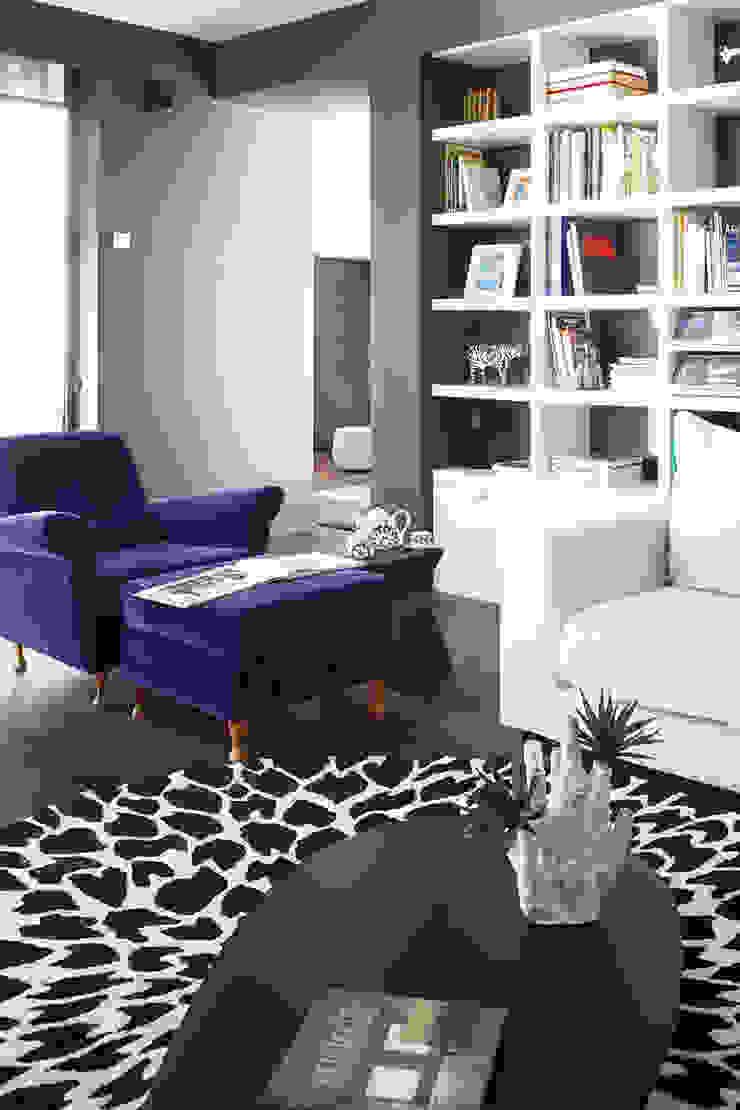 Casa Valldoreix. 2003 Salones de estilo moderno de Deu i Deu Moderno