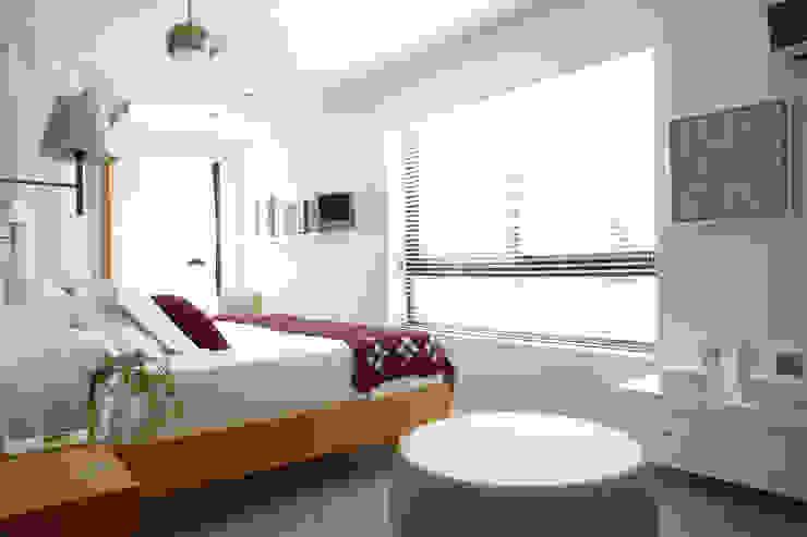 Casa Valldoreix. 2003 Dormitorios de estilo moderno de Deu i Deu Moderno