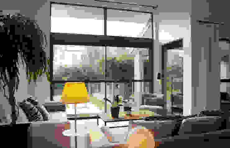 Casa La Varenne. París. 2013 Salones de estilo ecléctico de Deu i Deu Ecléctico