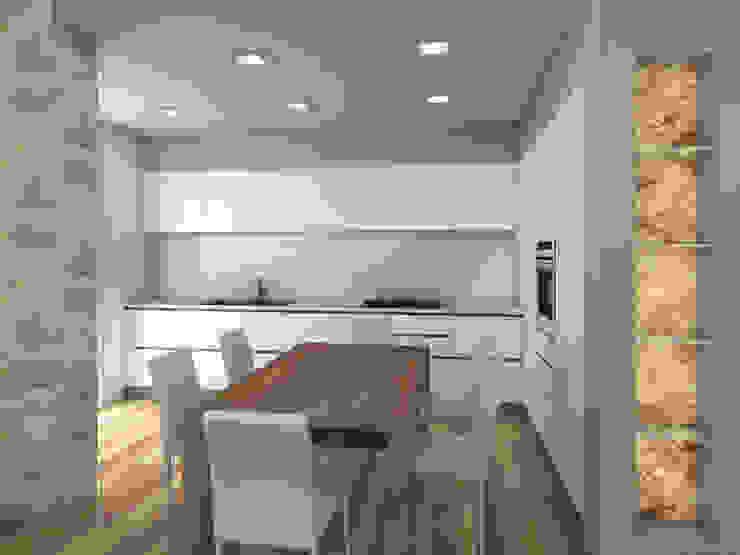 Cocinas de estilo minimalista de Il Giardino dei Mobili Minimalista